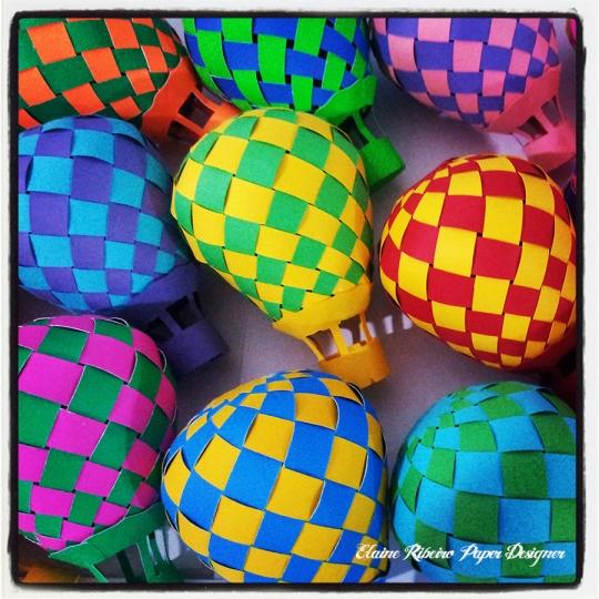 Balões em 3D